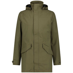 AGU Urban Outdoor Long Parka Men, army green